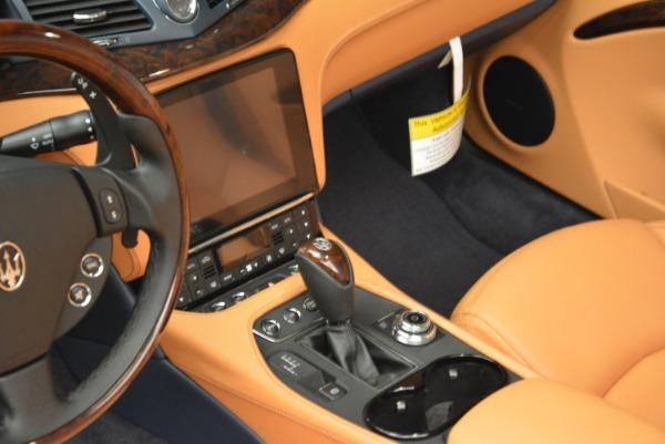 New 2018 Maserati GranTurismo Sport Convertible for sale Sold at Alfa Romeo of Westport in Westport CT 06880 13