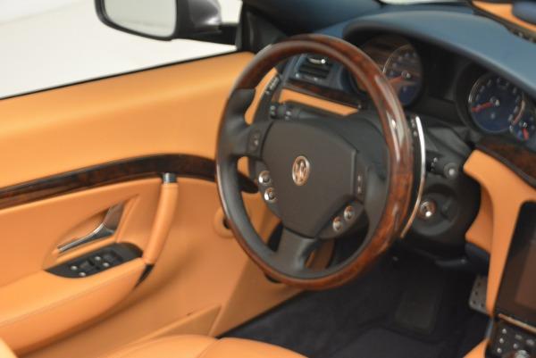 New 2018 Maserati GranTurismo Sport Convertible for sale Sold at Alfa Romeo of Westport in Westport CT 06880 15