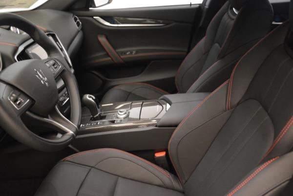 New 2018 Maserati Ghibli SQ4 GranSport Nerissimo for sale Sold at Alfa Romeo of Westport in Westport CT 06880 14