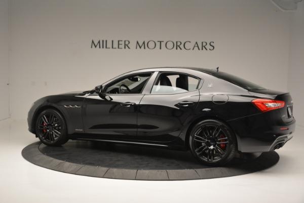 New 2018 Maserati Ghibli SQ4 GranSport Nerissimo for sale Sold at Alfa Romeo of Westport in Westport CT 06880 4