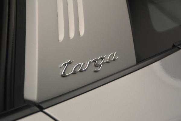 Used 2017 Porsche 911 Targa 4S for sale Sold at Alfa Romeo of Westport in Westport CT 06880 27