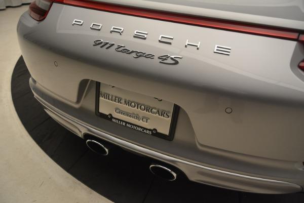 Used 2017 Porsche 911 Targa 4S for sale Sold at Alfa Romeo of Westport in Westport CT 06880 28