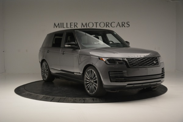 Used 2018 Land Rover Range Rover Supercharged LWB for sale Sold at Alfa Romeo of Westport in Westport CT 06880 11