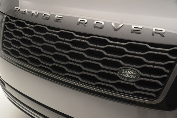 Used 2018 Land Rover Range Rover Supercharged LWB for sale Sold at Alfa Romeo of Westport in Westport CT 06880 13