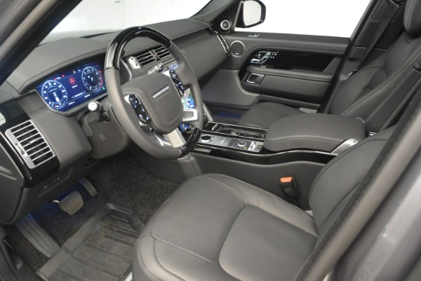 Used 2018 Land Rover Range Rover Supercharged LWB for sale Sold at Alfa Romeo of Westport in Westport CT 06880 17
