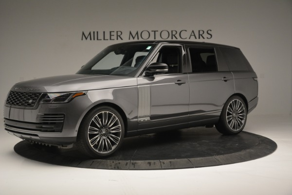 Used 2018 Land Rover Range Rover Supercharged LWB for sale Sold at Alfa Romeo of Westport in Westport CT 06880 2