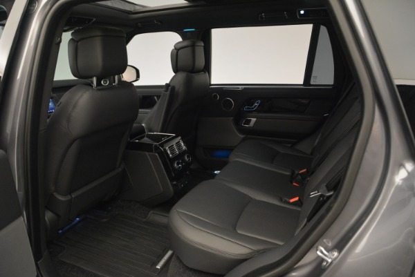 Used 2018 Land Rover Range Rover Supercharged LWB for sale Sold at Alfa Romeo of Westport in Westport CT 06880 20
