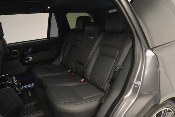 Used 2018 Land Rover Range Rover Supercharged LWB for sale Sold at Alfa Romeo of Westport in Westport CT 06880 21