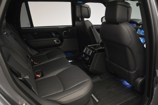 Used 2018 Land Rover Range Rover Supercharged LWB for sale Sold at Alfa Romeo of Westport in Westport CT 06880 26