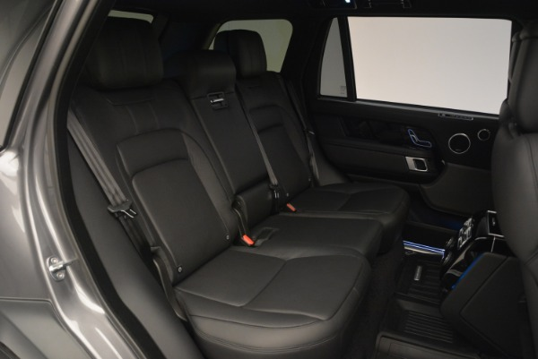 Used 2018 Land Rover Range Rover Supercharged LWB for sale Sold at Alfa Romeo of Westport in Westport CT 06880 27