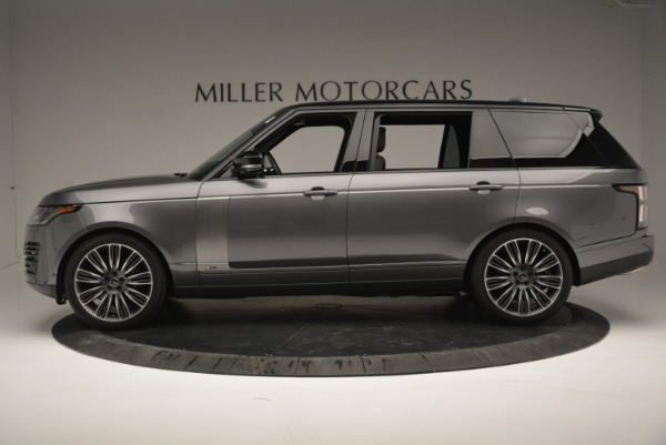 Used 2018 Land Rover Range Rover Supercharged LWB for sale Sold at Alfa Romeo of Westport in Westport CT 06880 3