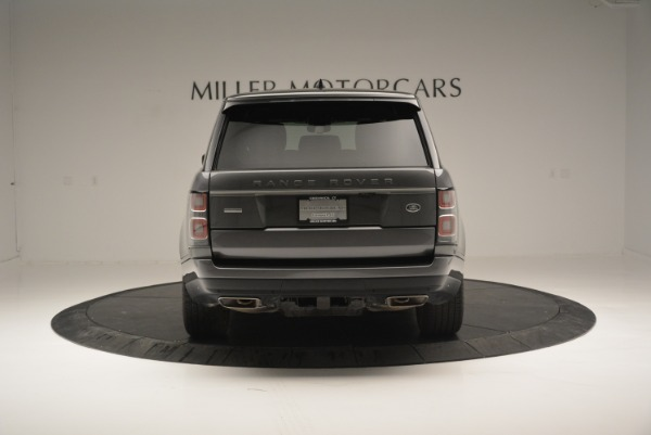 Used 2018 Land Rover Range Rover Supercharged LWB for sale Sold at Alfa Romeo of Westport in Westport CT 06880 6