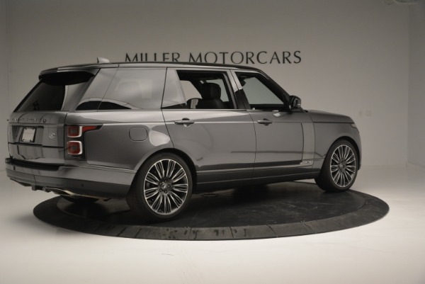 Used 2018 Land Rover Range Rover Supercharged LWB for sale Sold at Alfa Romeo of Westport in Westport CT 06880 8