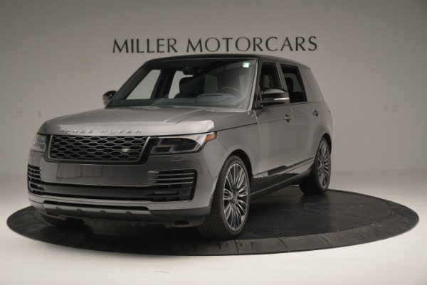 Used 2018 Land Rover Range Rover Supercharged LWB for sale Sold at Alfa Romeo of Westport in Westport CT 06880 1