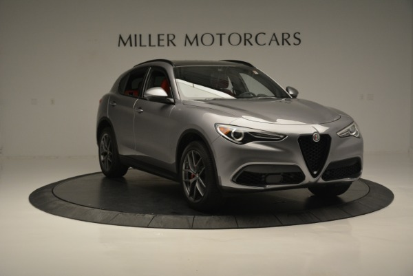 New 2018 Alfa Romeo Stelvio Ti Sport Q4 for sale Sold at Alfa Romeo of Westport in Westport CT 06880 11