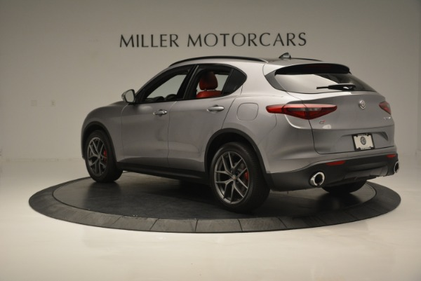 New 2018 Alfa Romeo Stelvio Ti Sport Q4 for sale Sold at Alfa Romeo of Westport in Westport CT 06880 4