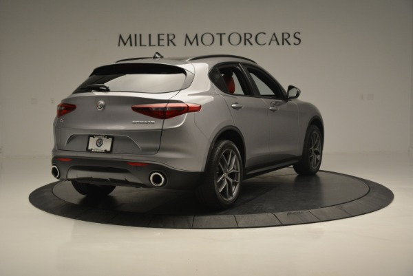 New 2018 Alfa Romeo Stelvio Ti Sport Q4 for sale Sold at Alfa Romeo of Westport in Westport CT 06880 7