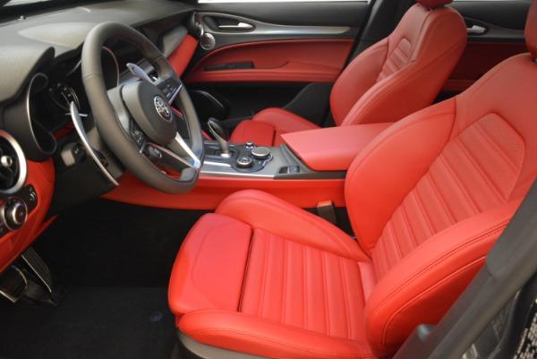 New 2018 Alfa Romeo Stelvio Ti Sport Q4 for sale Sold at Alfa Romeo of Westport in Westport CT 06880 14