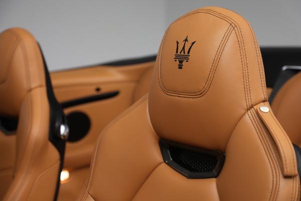 Used 2018 Maserati GranTurismo Sport for sale Call for price at Alfa Romeo of Westport in Westport CT 06880 23