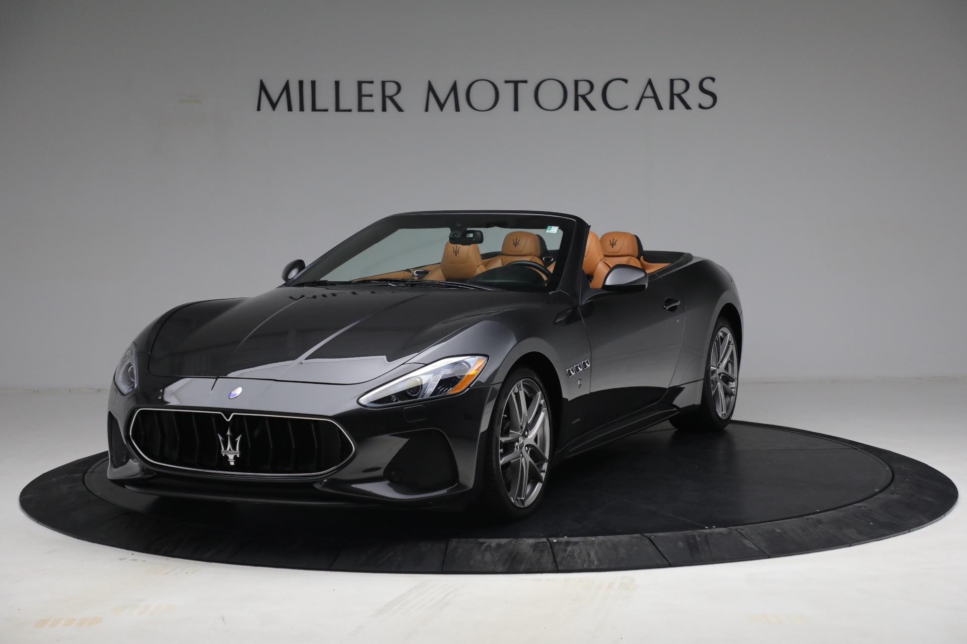 Used 2018 Maserati GranTurismo Sport for sale Call for price at Alfa Romeo of Westport in Westport CT 06880 1