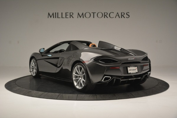 Used 2018 McLaren 570S Spider for sale Sold at Alfa Romeo of Westport in Westport CT 06880 5