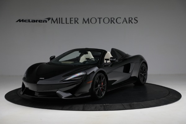 New 2018 McLaren 570S Spider for sale Sold at Alfa Romeo of Westport in Westport CT 06880 1