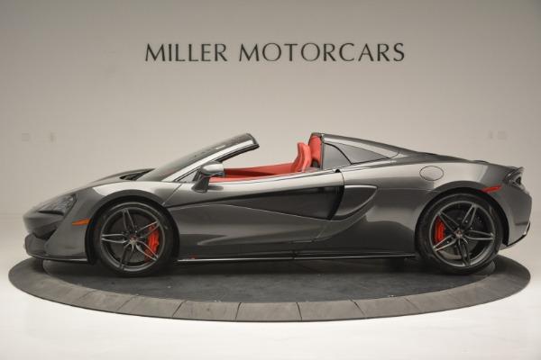 New 2018 McLaren 570S Spider for sale Sold at Alfa Romeo of Westport in Westport CT 06880 3