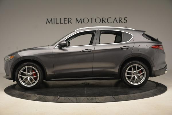 New 2018 Alfa Romeo Stelvio Ti Q4 for sale Sold at Alfa Romeo of Westport in Westport CT 06880 3