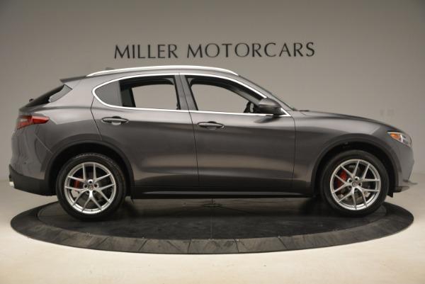 New 2018 Alfa Romeo Stelvio Ti Q4 for sale Sold at Alfa Romeo of Westport in Westport CT 06880 9