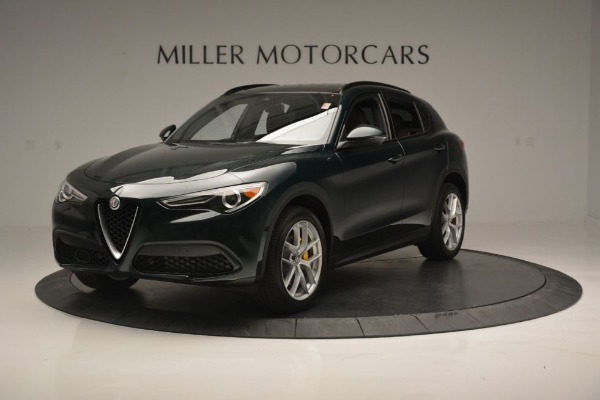 New 2018 Alfa Romeo Stelvio Ti Sport Q4 for sale Sold at Alfa Romeo of Westport in Westport CT 06880 2