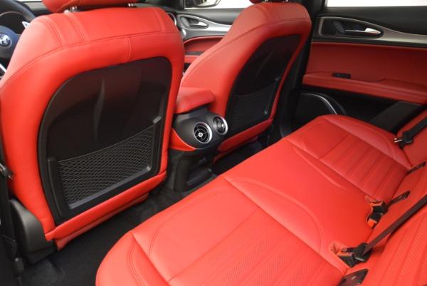 New 2018 Alfa Romeo Stelvio Ti Sport Q4 for sale Sold at Alfa Romeo of Westport in Westport CT 06880 20