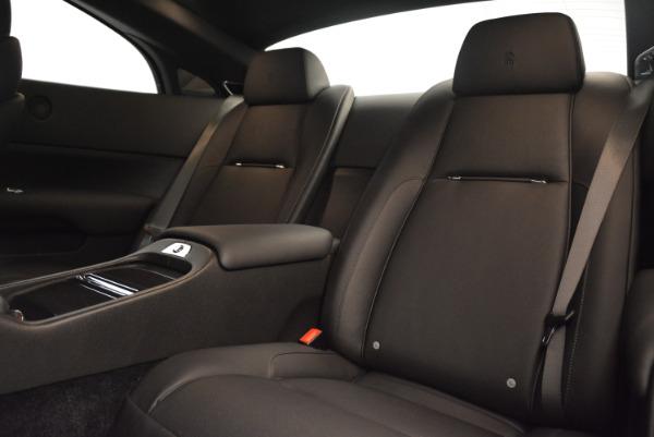 Used 2015 Rolls-Royce Wraith for sale $169,900 at Alfa Romeo of Westport in Westport CT 06880 18