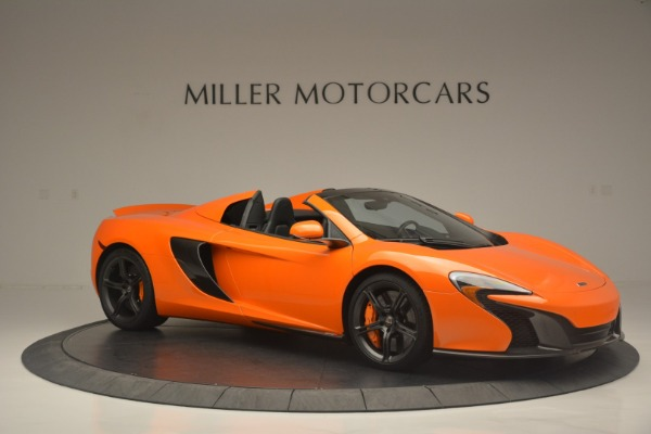 Used 2015 McLaren 650S Spider for sale Sold at Alfa Romeo of Westport in Westport CT 06880 10