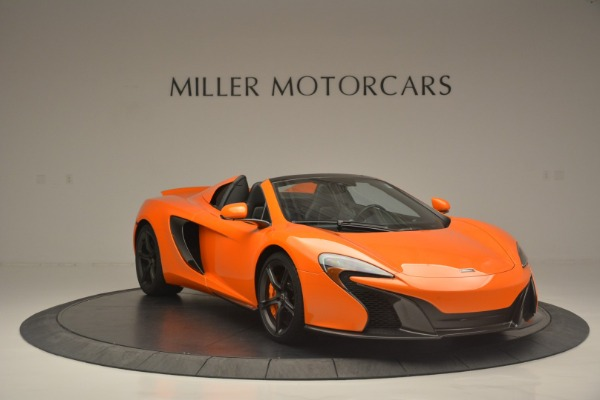 Used 2015 McLaren 650S Spider for sale Sold at Alfa Romeo of Westport in Westport CT 06880 11