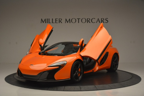 Used 2015 McLaren 650S Spider for sale Sold at Alfa Romeo of Westport in Westport CT 06880 14