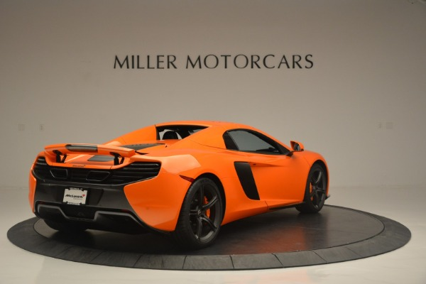 Used 2015 McLaren 650S Spider for sale Sold at Alfa Romeo of Westport in Westport CT 06880 19