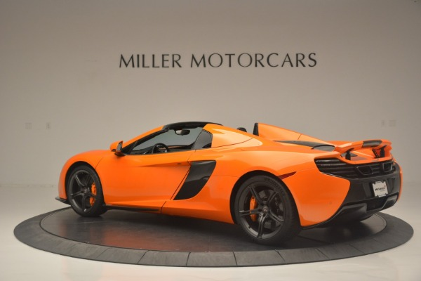 Used 2015 McLaren 650S Spider for sale Sold at Alfa Romeo of Westport in Westport CT 06880 4