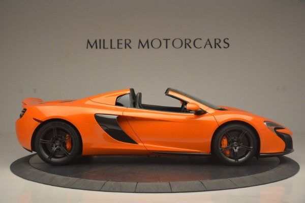 Used 2015 McLaren 650S Spider for sale Sold at Alfa Romeo of Westport in Westport CT 06880 9