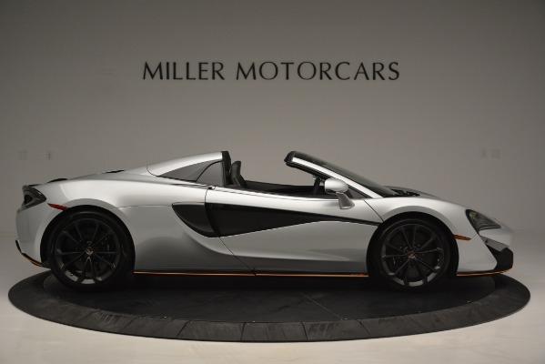 Used 2018 McLaren 570S Spider for sale Sold at Alfa Romeo of Westport in Westport CT 06880 9