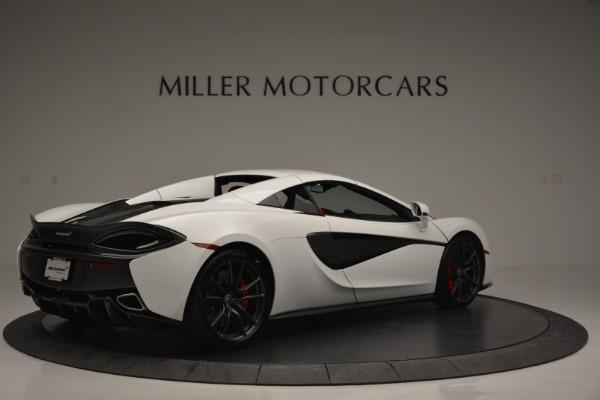 Used 2018 McLaren 570S Spider for sale Sold at Alfa Romeo of Westport in Westport CT 06880 18