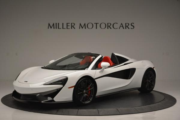 Used 2018 McLaren 570S Spider for sale Sold at Alfa Romeo of Westport in Westport CT 06880 2