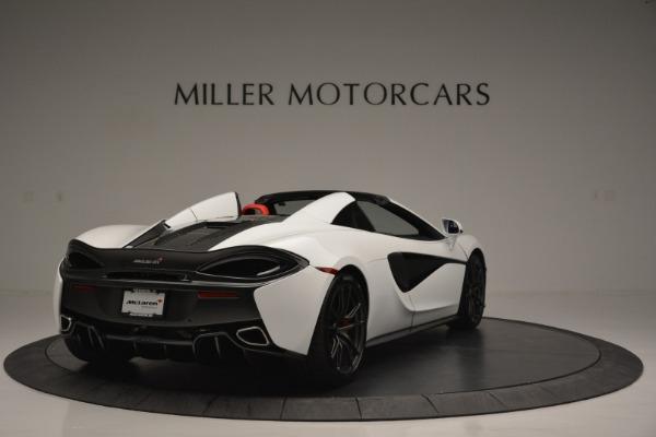 Used 2018 McLaren 570S Spider for sale Sold at Alfa Romeo of Westport in Westport CT 06880 7