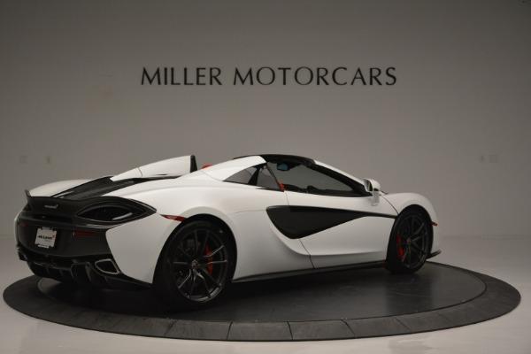 Used 2018 McLaren 570S Spider for sale Sold at Alfa Romeo of Westport in Westport CT 06880 8