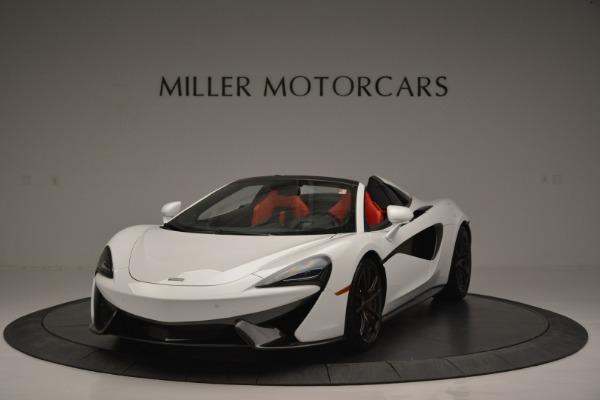 Used 2018 McLaren 570S Spider for sale Sold at Alfa Romeo of Westport in Westport CT 06880 1