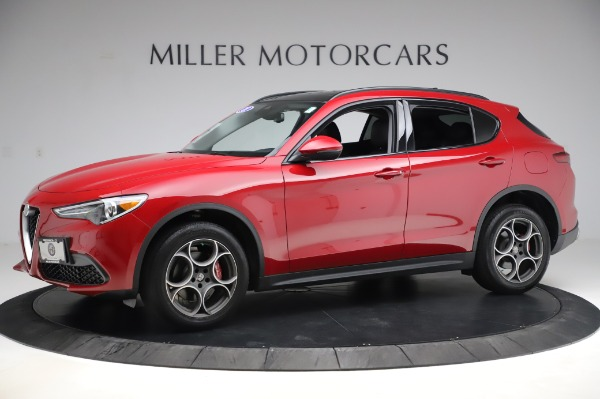 Used 2018 Alfa Romeo Stelvio Sport Q4 for sale Sold at Alfa Romeo of Westport in Westport CT 06880 2