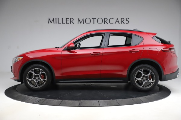 Used 2018 Alfa Romeo Stelvio Sport Q4 for sale Sold at Alfa Romeo of Westport in Westport CT 06880 3