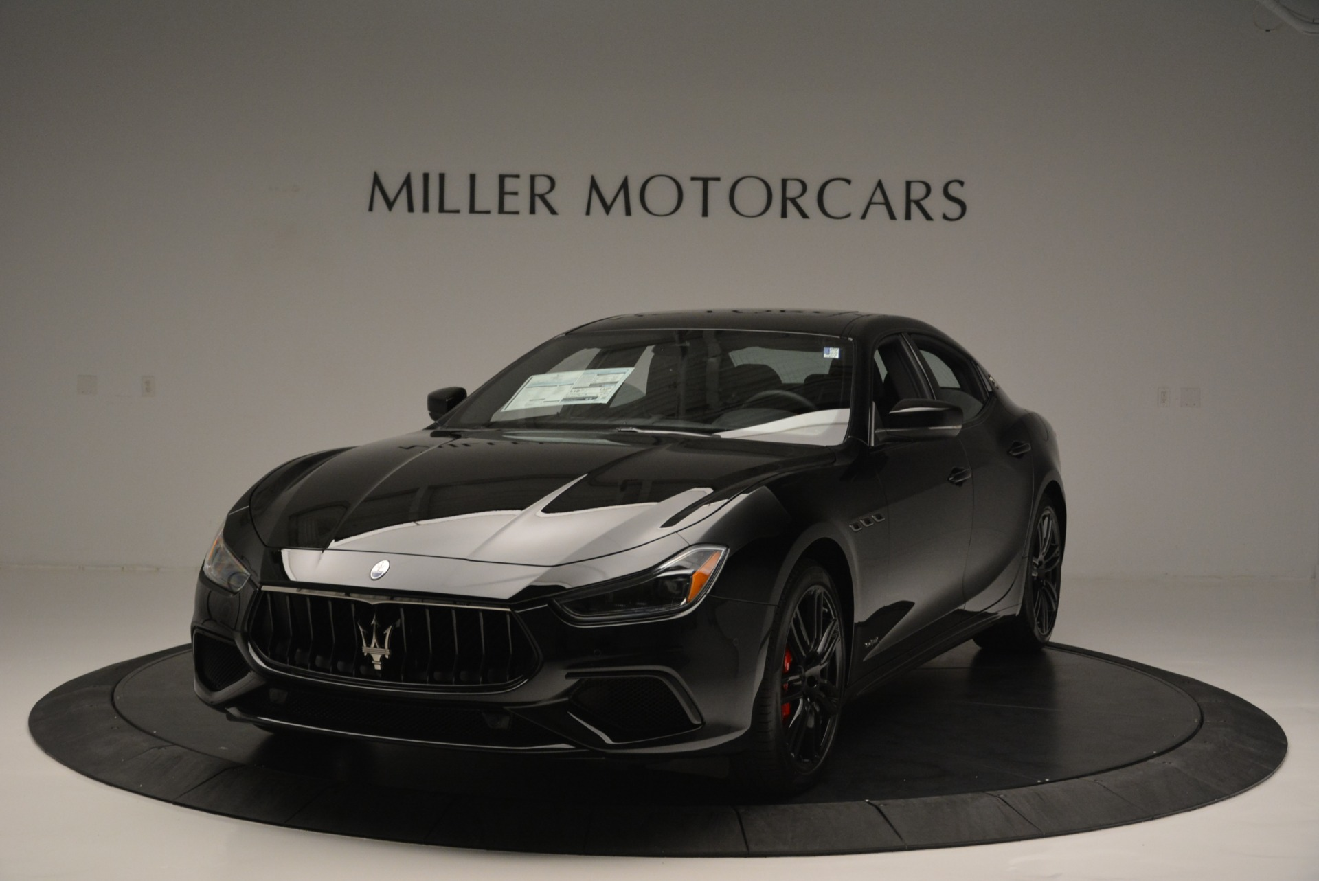 New 2018 Maserati Ghibli SQ4 GranSport Nerissimo for sale Sold at Alfa Romeo of Westport in Westport CT 06880 1