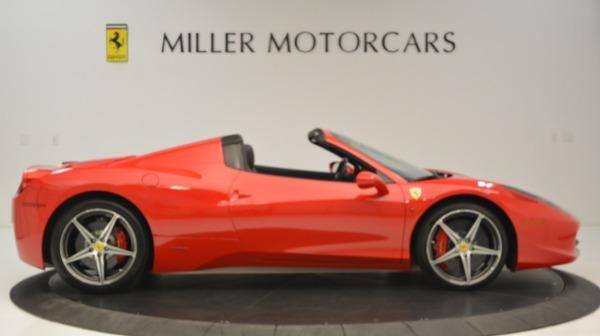 Used 2015 Ferrari 458 Spider for sale Sold at Alfa Romeo of Westport in Westport CT 06880 10