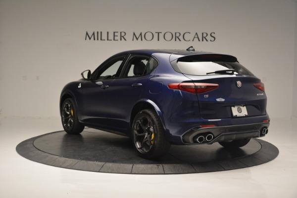 New 2018 Alfa Romeo Stelvio Quadrifoglio for sale Sold at Alfa Romeo of Westport in Westport CT 06880 5