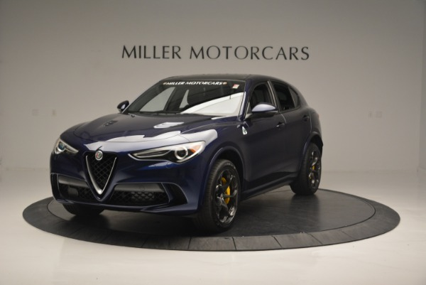 New 2018 Alfa Romeo Stelvio Quadrifoglio for sale Sold at Alfa Romeo of Westport in Westport CT 06880 1